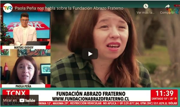 Paola Peña fundadora de Abrazo Fraterno: Nos faltan recursos para recibir más personas